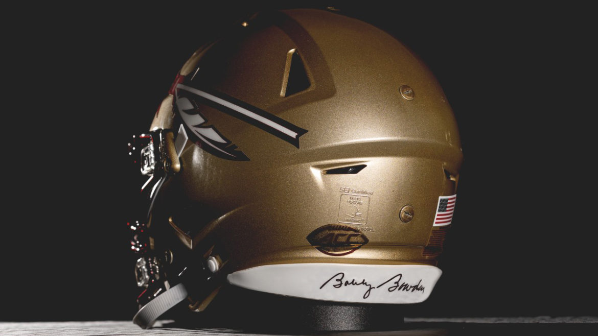Florida State To Honor Late Coach Bobby Bowden With Signature On Back Helmet Bumper