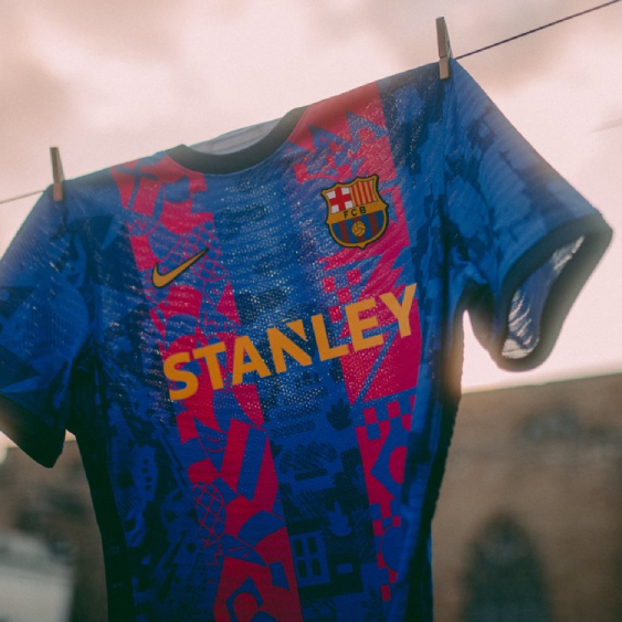FC Barcelona Collaborates with Young Artists for New Champions League Kit