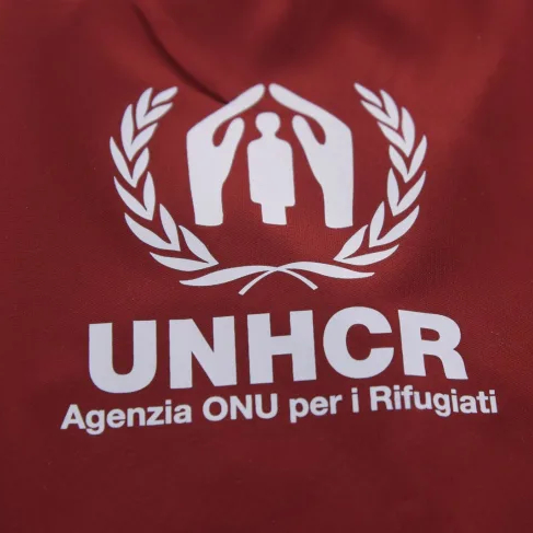 AS Roma Wears UNHCR Patch in Support of Afghanistan