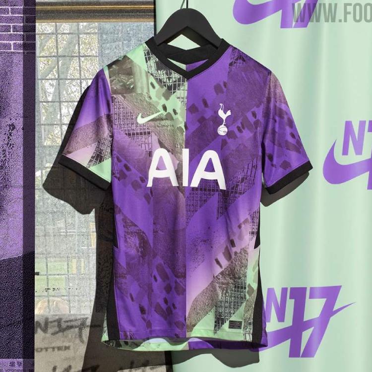Tottenham Hotspur Team with Local Art Studio for 2021-22 Third Kit