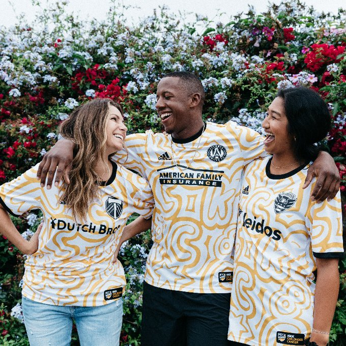 MLS Looks to Give the Boot to Childhood Cancer with Special Pre-Match Jerseys