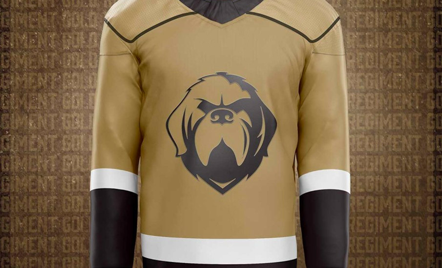 ECHL Growlers Go Gold, Release New Third Jersey