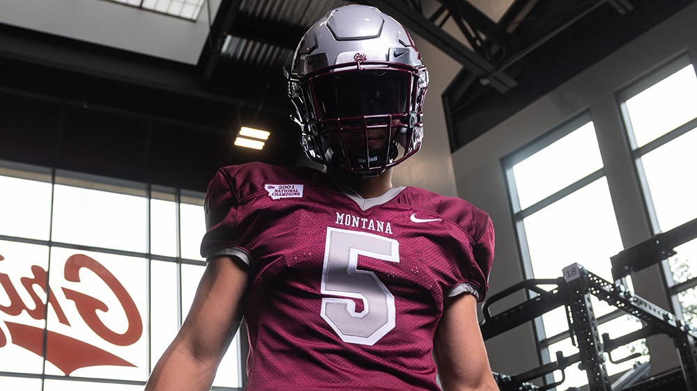 Montana Grizzlies To Wear 2001 National Championship Throwback Uniforms