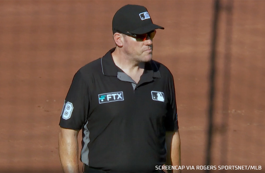 Explaining the FTX Patch worn by MLB Umpires