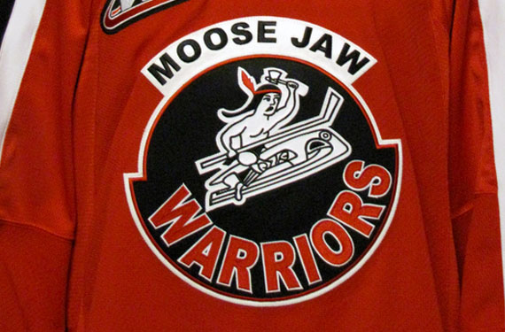 Moose Jaw Warriors Throwback Jersey 2014-15