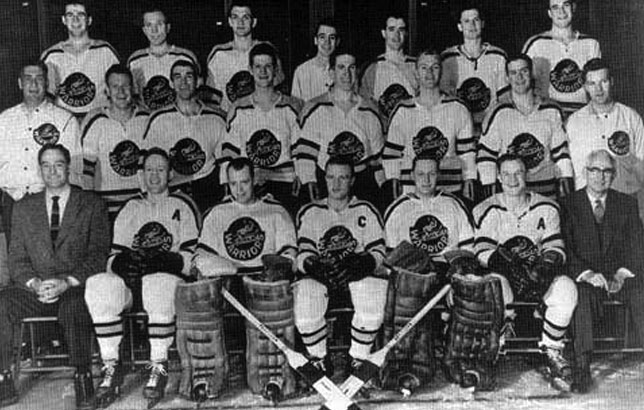 Winnipeg Warriors 1955-56