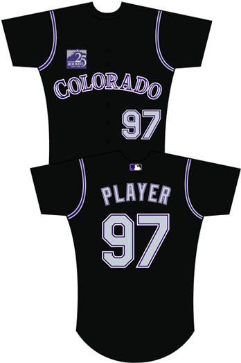 best authentic fd76f d4a68 Uniforms worn for Colorado Rockies at Arizona Diamondbacks ...