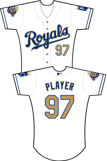 sports shoes f227c 75fa0 Uniforms worn for New York Yankees at Kansas City Royals on ...